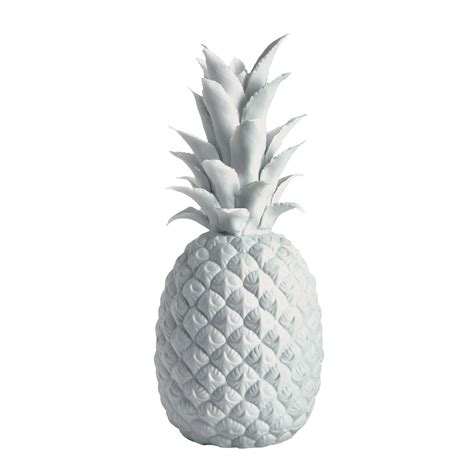 White Pineapple Decor by 301 Moved Permanently