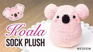 DIY Koala Plush!! Make a Cute DIY Toy using Socks ...