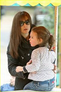 Monica Bellucci39s Daughter Goes Jump Jump Photo 1048721