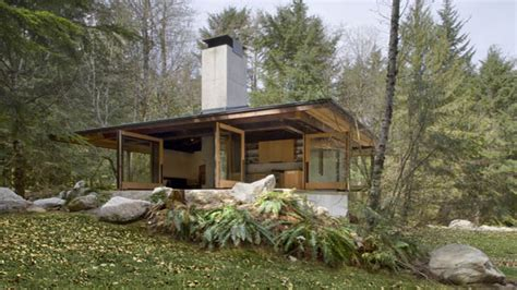 Inexpensive Small Cabin Plans Small Modern Cabin Plans