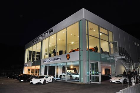 lamborghini dealership lamborghini opens new dealership in switzerland