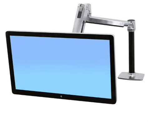 ergotron lx hd sit stand desk mount lcd arm ergotron lx hd sit stand desk mount lcd arm ergopro
