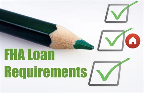 fha loan requirements review