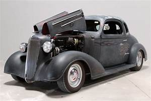 1936 Chevy 5 Window Coupe  U0026quot Black Betty U0026quot