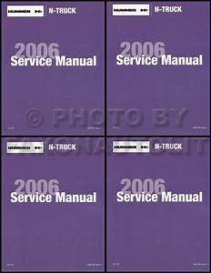 2006 Hummer H3 Repair Shop Manual Original 2 Volume Set