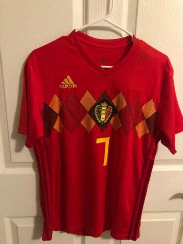 NWT Kevin De Bruyne #7 Belgium Red World Cup Jersey ...