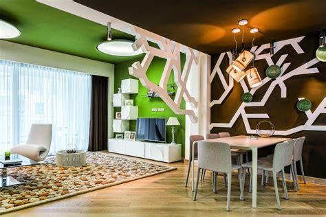 Contemporary Interior Design Inspired by Summer Garden