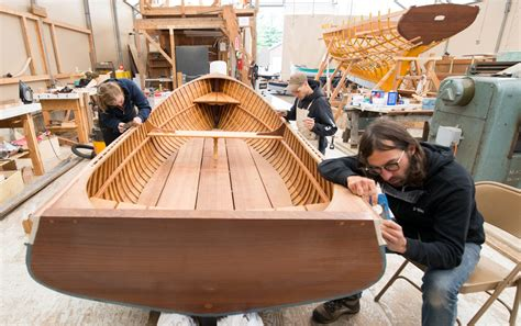 Boat Building School Canada by Northwest School Of Wooden Boatbuilding Make A Living