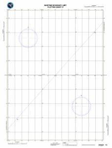 How To Read Nautical Charts Oceangrafix Nga Nautical Chart 27 Maritime Boundary