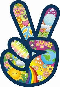 Love And Peace : peace symbol sign hand flower power hippie love car color ~ A.2002-acura-tl-radio.info Haus und Dekorationen