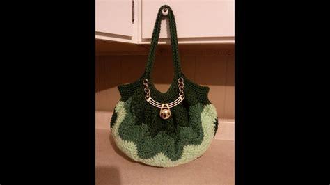 crochet chevron purse tutorial diy handbag learn crochet