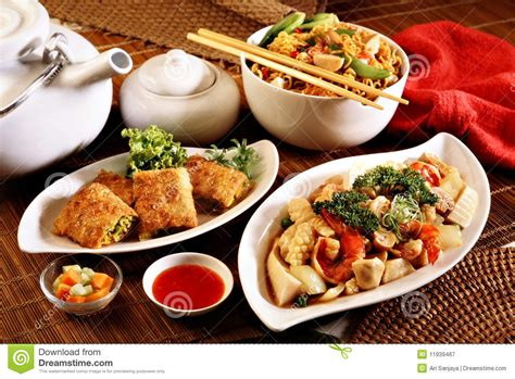 cuisine orient food stock image image of isolated china