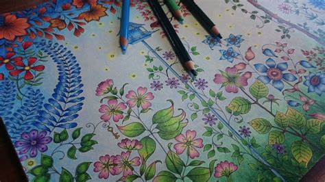 how to color coloring the secret garden part 3 how to color a