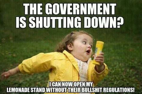 Government Memes - 10 funniest memes on the us shutdown