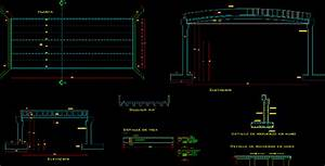 Bridge  20 M  Dominican Republic Dwg Block For Autocad
