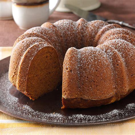bundt cake recipes moist pumpkin bundt cake recipe taste of home