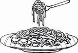 Spaghetti Pasta Coloring Plato Colouring Clipart Espaguetis Colorear Dibujo Dibujos Fideos Imagenes Noodle Dinner Imagui Espagueti Pintar Clip Pastas Mewarna sketch template