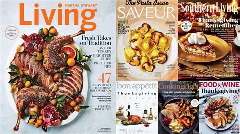 cuisiner magazine which food magazine has the best thanksgiving cover eater
