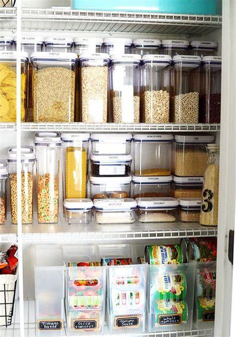 ideas  organizar tu despensa  tarros  contenedores