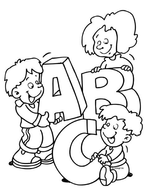 Janiek Kleurplaat Letters by Kleurplaat Letters A B C Kleurplaten Nl