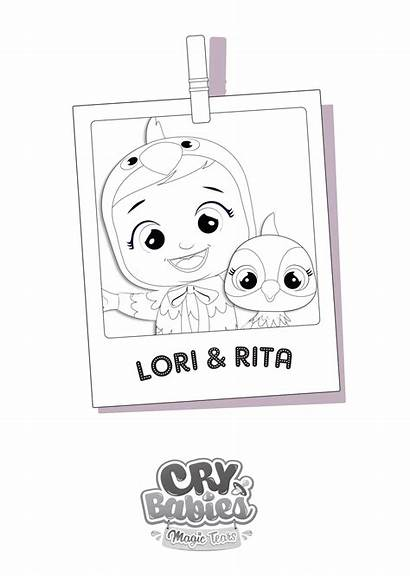 Tears Paint Magic Lori Cry Babies Rita