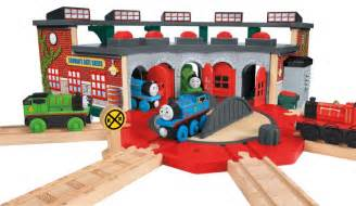 thomas friends train wooden wood railway deluxe