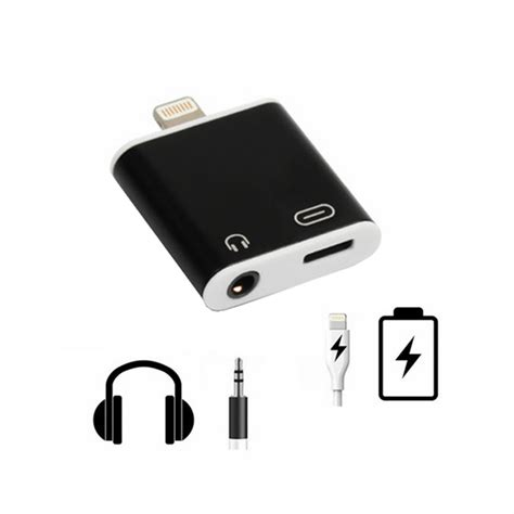 p  iphone    lightning adapter mm aux