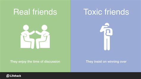 ways  differentiate real friends  toxic friends