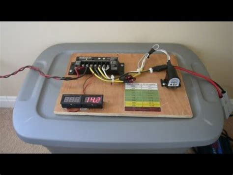 Simple Home Solar Setup Panel Morningstar