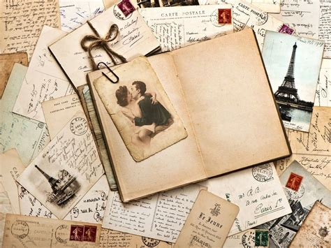 Vintage Postcard Template Photoshop Wallpaper Vintage Postcards Backgrounds For Powerpoint Border And