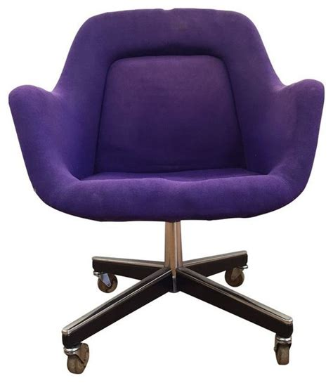 purple max pearson for knoll chair modern office chairs