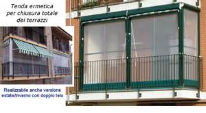 Tende terrazzo condominio : Tende avvolgibili verticali chiusure in pvc trasparente