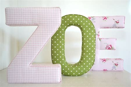 shabby chic fabric letters fabric letter wall art in shabby chic pink cheekee monkeez madeit com au