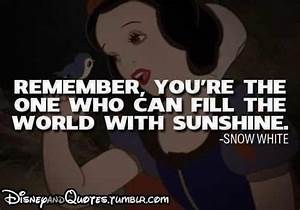 Snow White | Disney Quotes | Pinterest