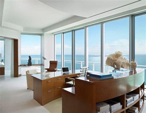 ocean penthouse miami beach contemporary home office
