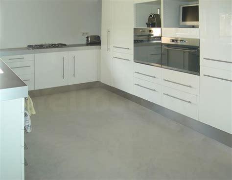 beton cire cuisine plan travail cuisine et plan de travail beton cir 233 yellostone cuisine et sol