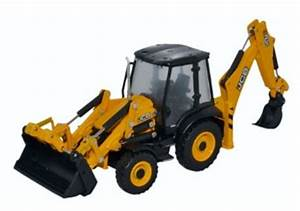 763cx001 Jcb 3cx Eco Backhoe Loader  1 76  Oo Scale   By