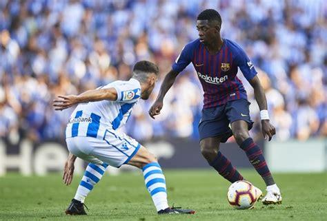 Spanish LaLiga Report: Real Sociedad v FC Barcelona 15 ...