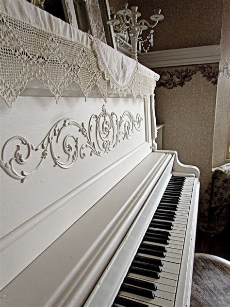 Beautiful White Piano