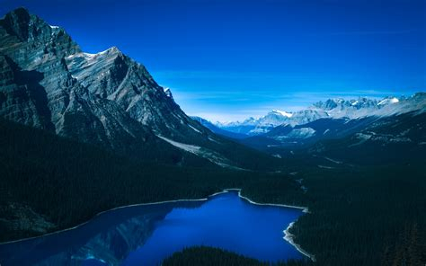 4k Wallpapers by Banff National Park Landscape 4k Wallpapers Hd