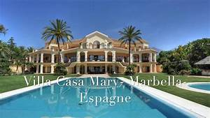 location villa luxe espagne marbella front de mer youtube With maison avec piscine a louer en espagne 5 location luxe espagne location espagne villa