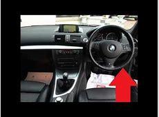BMW 1 Series E81 E82 E87 E88 Diagnostic Port Location