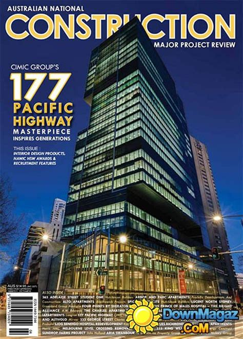 Australian National Construction Review  October 2016