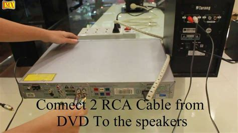 connect computer speakers   dvd player youtube