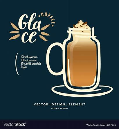 Label Coffee Drawn Drink Lettering