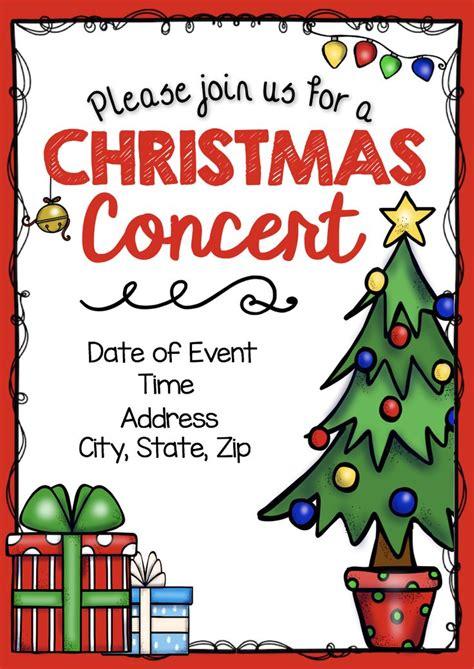 concert bundle editable diy invitations 575 | bcfac8901d93d722d729af1623da39c2