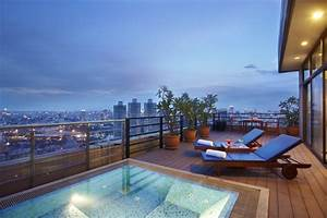 balkon gestalten 82 ideen fur individuelle wohlfuhllounge With markise balkon mit designer tapeten sale