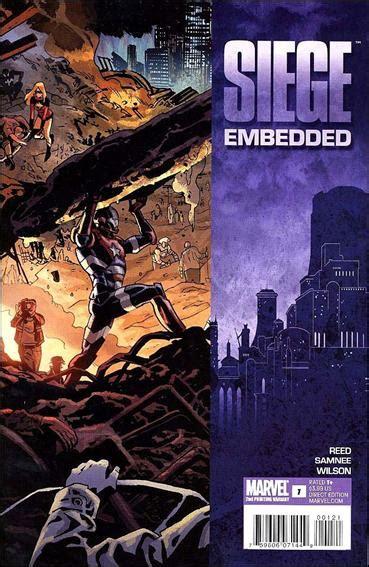 siege embedded siege embedded 1 b mar 2010 book by marvel