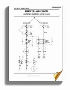 Daewoo Matiz 2000 2013 Body Electrical Wiring System