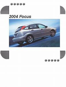 Ford Focus 2004 Factory Service  U0026 Shop Manual